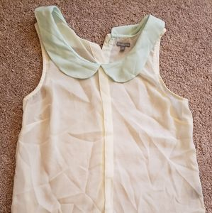 Button up back tank